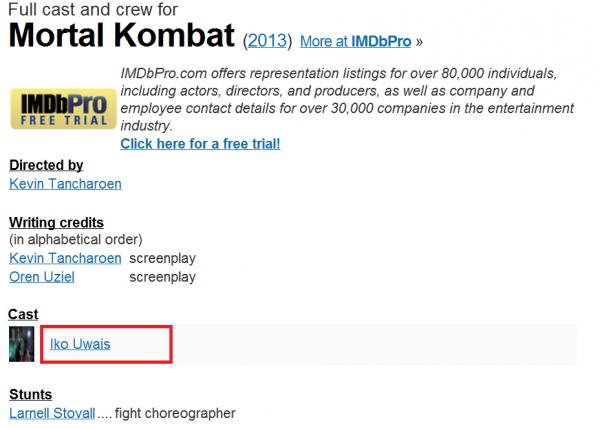 iko uwais imdb