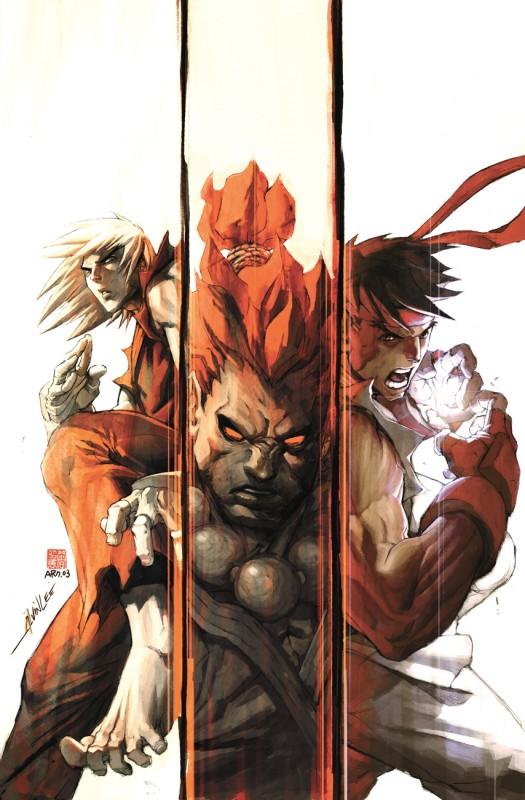 street fighter rooster ryu akuma ken