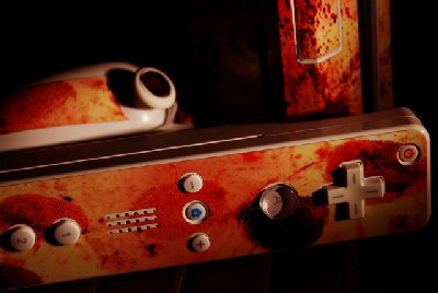 wii in blood