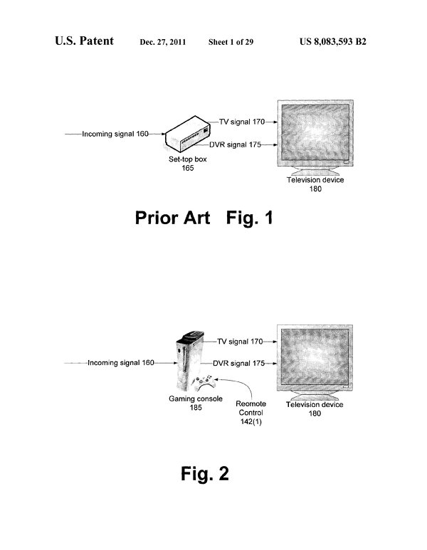 xbox new patent