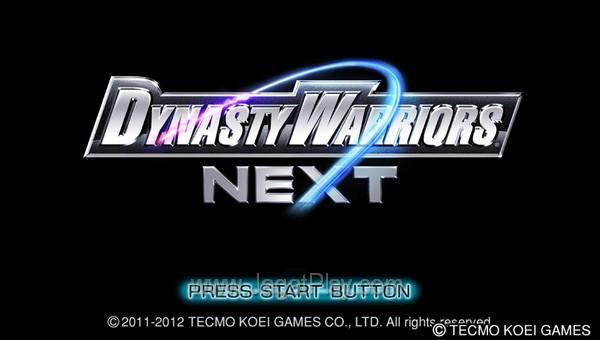 Dynasty Warriors NEXT 4