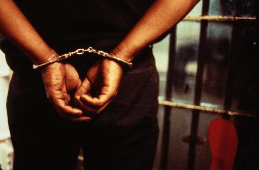 prison handcuff