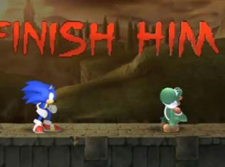 finish him sonic