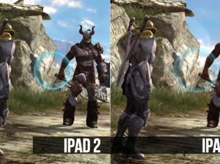 ipad 2 vs the new ipad infinity blade