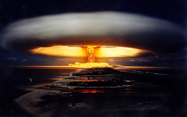 nuclear bomb explosion wide