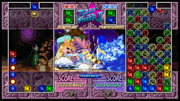 Capcom Digital Collection Street Puzzle Fighter II Turbo HD Remix 3