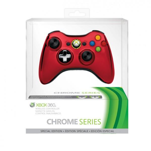 Xbox 360 Wireless Controller Chrome Series 1