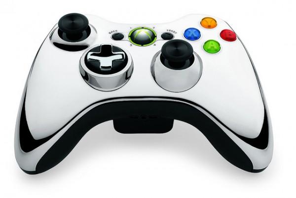 Xbox 360 Wireless Controller Chrome Series 2