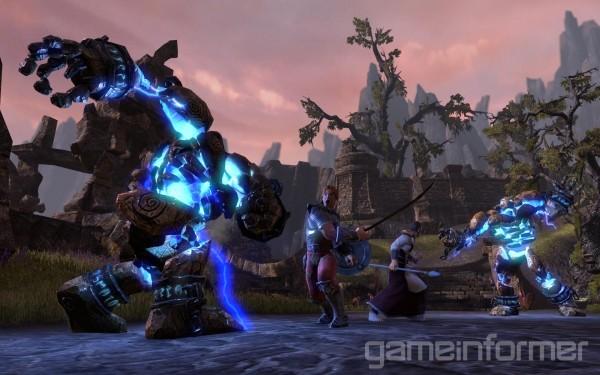 Elder Scrolls Online first screenshot