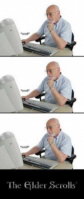 elder scrolling