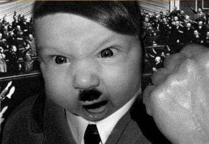 hitler little kid
