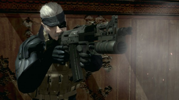 mgs 4 solid snake