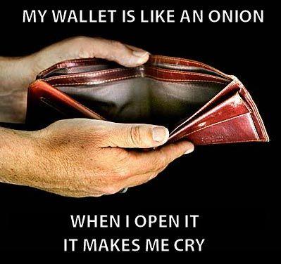 my money is like an onion