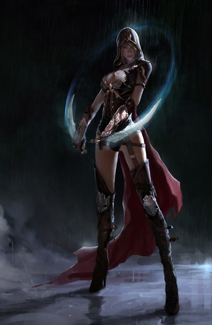sexy assassins creed