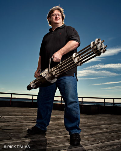 Gabe Newell - boss besar Valve meminta maaf atas penarikan Hatred dari Steam Greenlight beberapa waktu yang lalu.