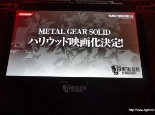 metal gear solid hollywood