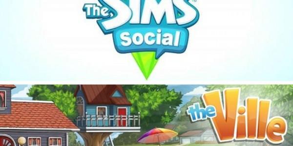 sims social vs the ville