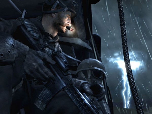 Captain Price is not amused..
