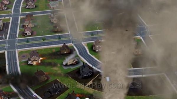 sim city 2013 tornado