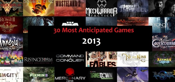 30 most anticipated games
