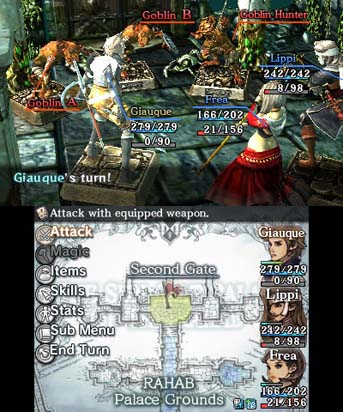 crimson shroud gameplay
