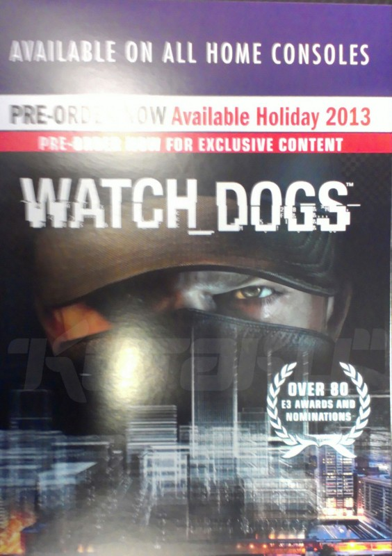 watch dogs poster