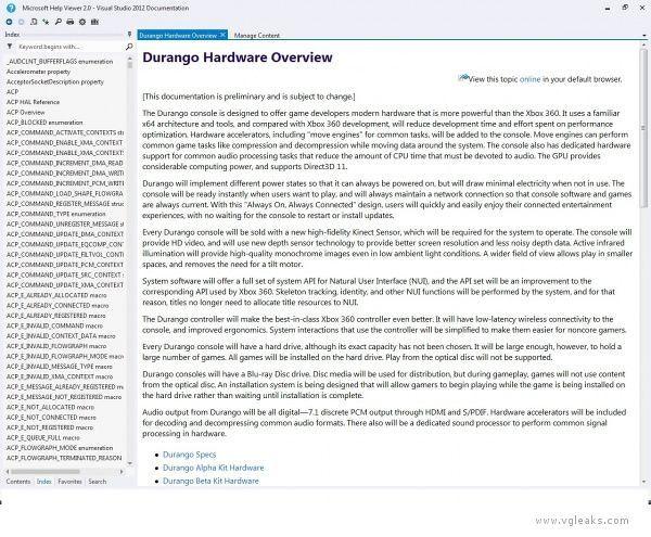 durango overview storage