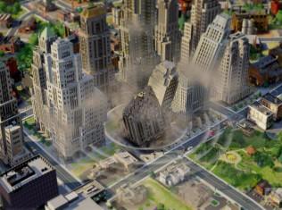 sim city disaster