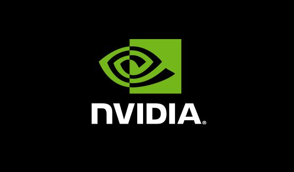 Logo NVIDIA Black