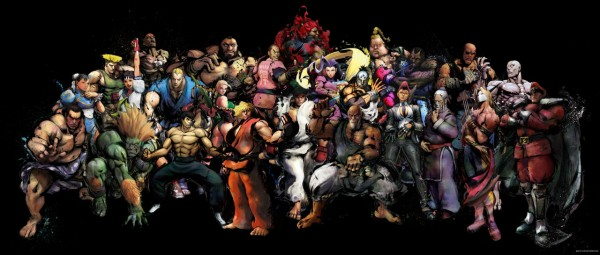 street fighter characters