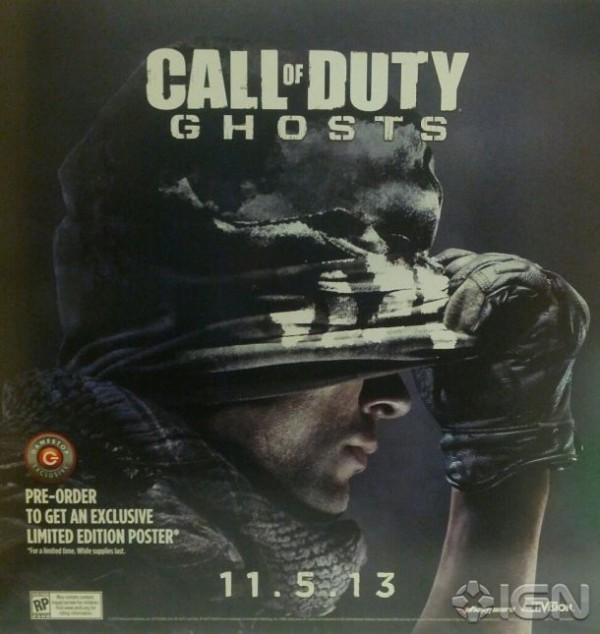 cod ghosts release date