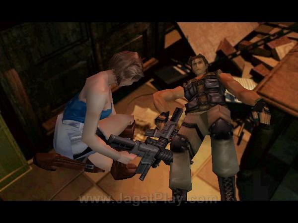 Tidak hanya bertempur sendiri, Jill juga akan bertemu dengan para tentara UBSC yang selamat selama perjalanan.