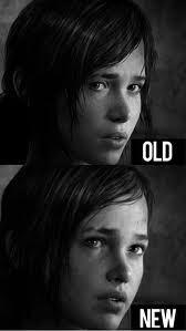 Naughty Dog sendiri memang beberapa kali mengganti bentuk wajah Ellie agar lebih mirip dengan sang aktris suara - Ashley Johnson. Namun banyak gamer yang masih melihat kemiripan desain awal dengan Ellen Page yang masih terlihat jelas di sana.