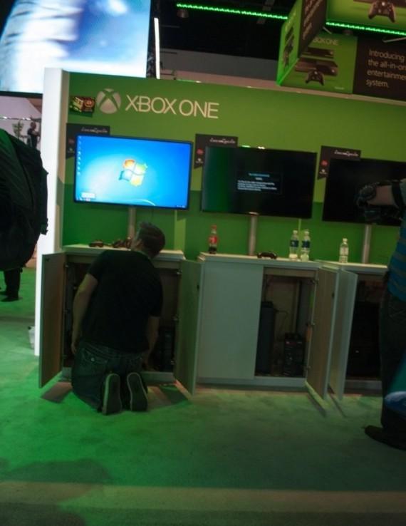Xbox One? Lebih tepatnya PC high-end dengan sistem operasi Windows 7.