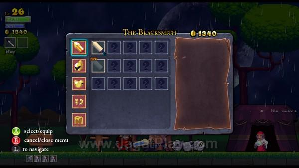 Untuk memperkuat setiap karakter yang Anda gunakan, toko-toko di awal permainan akan menyediakan perlengkapan dan senjata yang Anda butuhkan. Walaupun demikian, Anda tetap harus mendapatkan blue-print dari masing-masing item ini terlebih dahulu sebelum dapat diakses dan dibeli di toko.