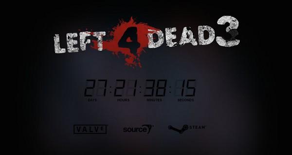Secara tiba-tiba sebuah situs countdown yang mengatasnamakan Left 4 Dead 3 mengemuka di dunia maya. Jangan terlalu berbahagia, ada beberapa kejanggalan yang pantas untuk diperhatikan.