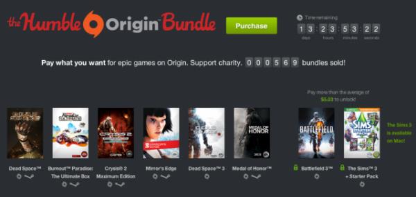 8 buah game original terbaik EA dengan hanya Rp 50.000!