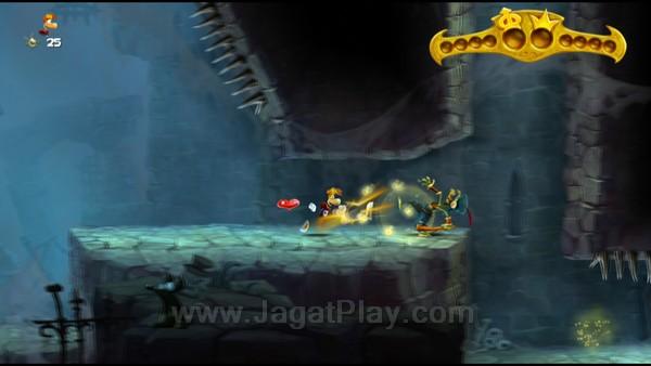 Sebagai game platformer, mekanik gameplay Rayman memang masih berkisar pada aksi-aksi sederhana, seperti memukul, melompat, meluncur, dan aktivitas lainnya.