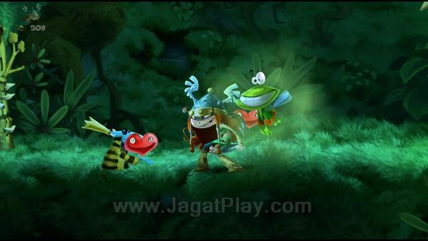 Rayman Legends juga menawarkan varian karakter  lain dengan keunikannya masing-masing.