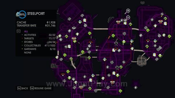 Ada begitu banyak side mission yang tersebar di sepanjang map ini.