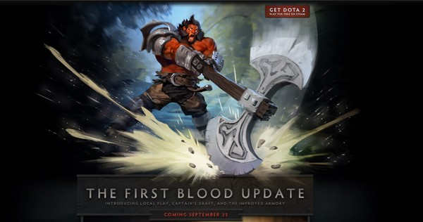 first blood dota 2