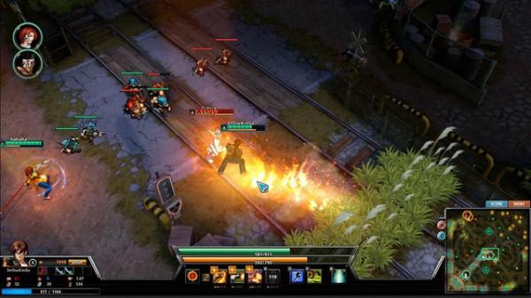Lewat tangan developer Korea - Dragonfly, King of Fighters dilahirkan kembali dalam format MOBA.