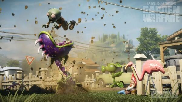 PopCap menyatakan bahwa Plants Vs Zombies adalah sebuah game team-based multiplayer shooter - kooperatif atau kompetitif. Ini berarti, ia hadir tanpa mode single player.