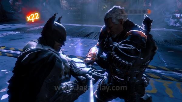 Salah satu yang menarik dari Origins adalah pertarungan sinematik yang ia tawarkan di bagian Boss Fight. Terutama ketika Anda berhadapan dengan Deathstroke.