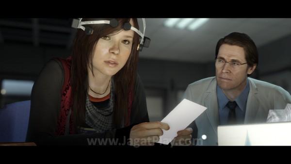 Di bawah pengawasan Nathan Dawkins, Jodie diawasi dalam laboratorium, sekaligus untuk mencari tahu apa itu Aiden.