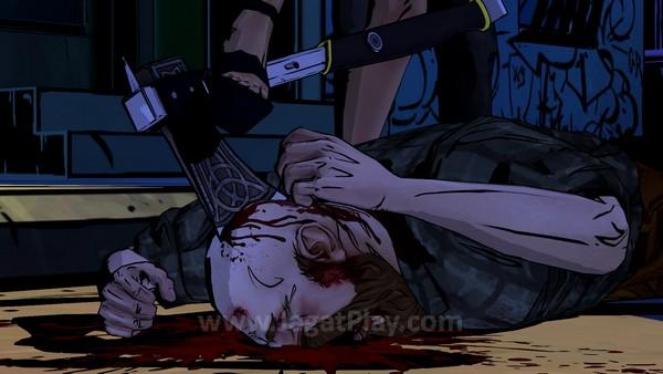Telltale tidak lagi menahan diri. Anda akan bertemu dengan begitu banyak sumpah serapah, darah, mutilasi di seri game yang satu ini.