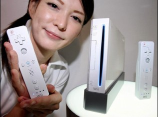 wii woman