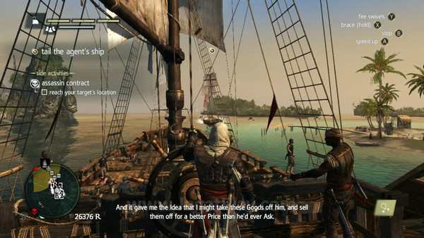Bagian paling menakjubkan? Ketika Anda bisa mengendarai atau berhenti dari kapal Anda tanpa perlu waktu loading sama sekali.