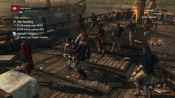 Bertarung di atas kapal yang hendak dibajak memang memesona di awal permainnan, namun terasa kian membosankan dan tidak lagi menarik seiring dengan waktu permainan Anda.