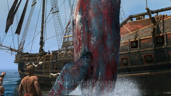 Tidak hanya sekedar mengarungi lautan, Anda juga bisa berburu beragam makhluk raksasa nan eksotis sebagai bahan crafting atau sekedar untuk ekstra uang.